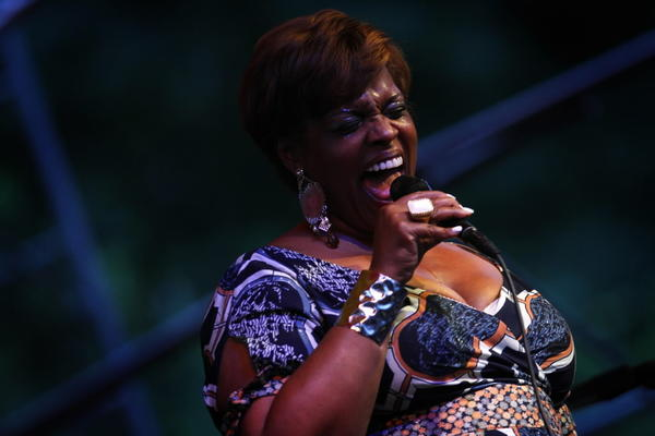 Dianne Reeves headlines the South Shore JazzFest in 2010.