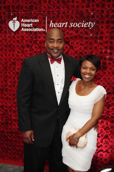 "Tony Coley, left, and Tona Coley at the American Heart Association's ""Broward Heart Ball,"" which took place on May 5 at the Fort Lauderdale Westin Beach Resort & Spa and raised more than $800,000."