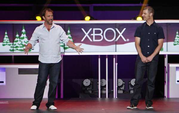 """South Park"" creators Trey Parker, left, and Matt Stone reveal at E3 that they are working on a game titled ""The Stick of Truth"" based on their television show."