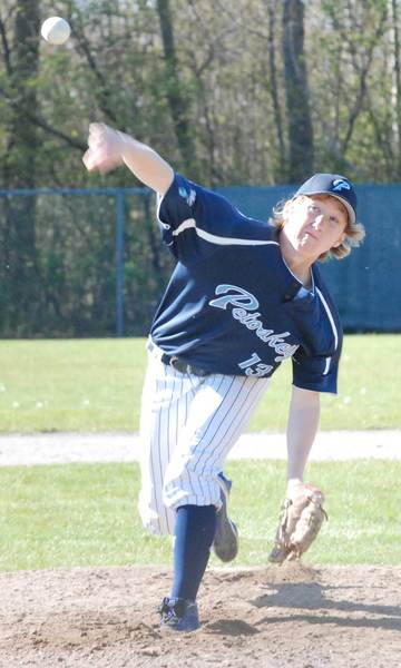 David Waterson was the winning pitcher in Petoskey's 8-3 district semifinal win over Sault Ste. Marie on Monday. The Northmen fell in the district final to Escanaba, 9-2, closing a 24-10 season.