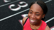 <b><big>Girls track: Clairwin Dameus, Santaluces</big></b>