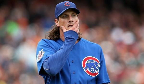 Cubs pitcher Jeff Samardzija. (Getty Images)