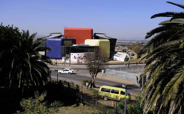 "The Soweto Theater opened May 25 with a production of ""The Suitcase,"" adapted by South African director James Ngcobo."