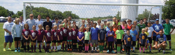 St. Maria Goretti held a free offensive and defensive soccer skills clinic on Saturday at the Hagerstown Soccer Club. The clinic for players on U14 teams and under drew 40 participants. Coaches on hand were Tristan Longnecker, Mark Barone, Zach Newman, Roy Rickerds, Dave Tennant, Rick Aleshire and Brandon Wingfield. Manager Tracy Zamora also attended.