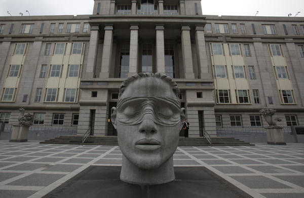 The Martin Luther King Jr. Federal Building and U.S. Courthouse is seen in Newark, New Jersey.