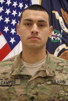 Gerardo Campos was killed in Afghanistan.