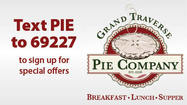 Text PIE to 69227 - Grand Traverse Pie Company Petoskey