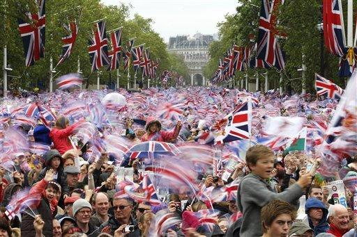Jubilee crowd