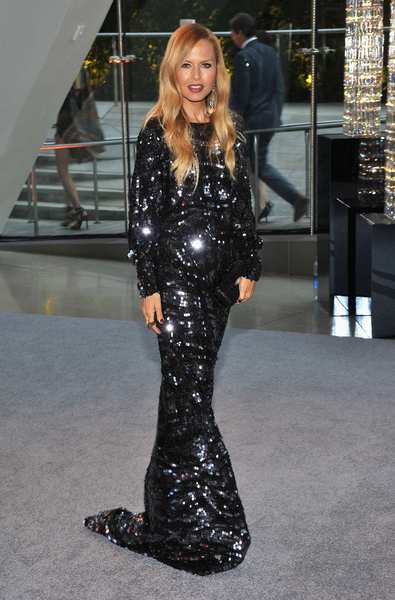 The 2012 CFDA awards red carpet: Fashion designer and reality TV star Rachel Zoe.