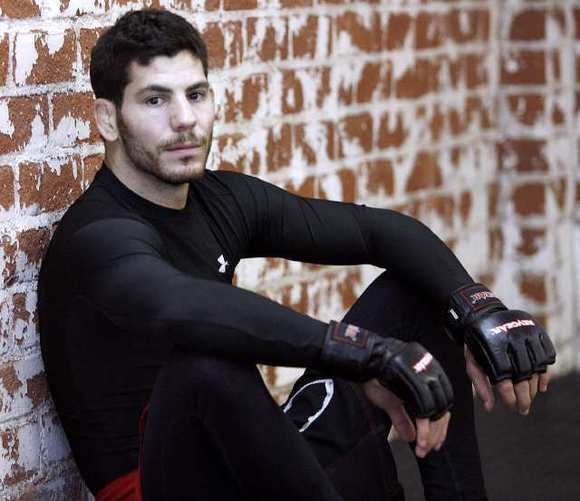 "Jared ""The Jackhammer"" Papazian, a UFC fighter who trains in Burbank, enters the octagon on Friday to face off with Dustin Pague live on Fuel TV as part of the UFC on FX 3 live preliminary card at the Bank Atlantic Center in Fort Lauderdale, Fla."