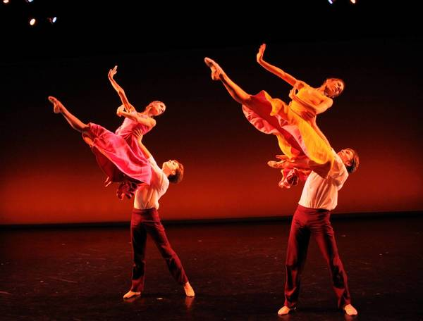 "Richmond Ballet dancers perform ""Ershter Vals,"" a dance by Ma Cong the company will perform in London in June 2012"