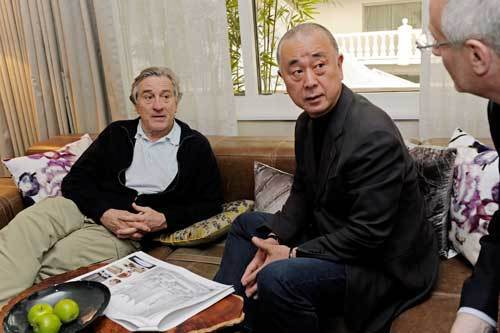 Robert De Niro with Nobu Matsuhisa
