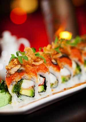 The Spicy Lady Roll at Rice & Company