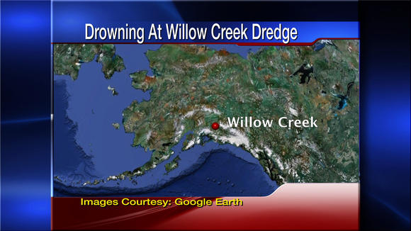 Wasilla Man Drowns in Willow Creek