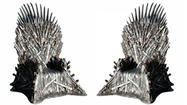 "The would-be kings and queen have gone to war to take the Iron Throne in HBO's ""Game of Thrones."" Ownership appears to be a lot easier for fans of the hit series."