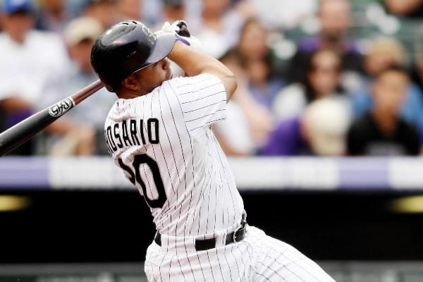 Is he a household name? No. Is he a guy with a seven-game hit streak who plays half his games in Coors Field? You better believe it! <br><b>Key stat:</b> Not only does he have three homers during the streak, he has also stolen a pair of bases. Run Wilin run!