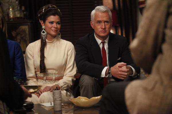 Roger Sterling's LSD trip. Dude heard music when opened a liquor bottle and took a drag from his cigarette. And he had a vision of the 1919 World Series while in the bathtub.