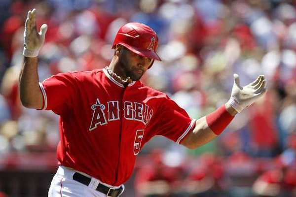 The Angels didn't have a draft pick until the third round, in part because of the signing of Albert Pujols.