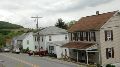Homes along Ralphton Road in Ralphton