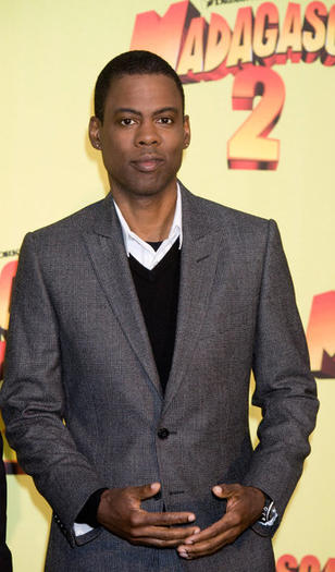Actor Chris Rock attends 'Madagascar: Escape 2 Africa' photocall on November 26, 2008 in Rome, Italy.