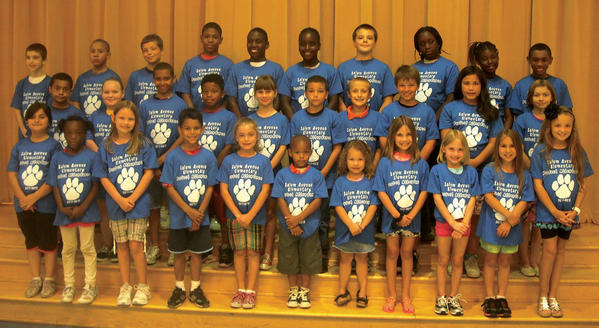 Salem Avenue students are pictured in their new perfect attendance T-shirts.Font row: Sevda Mustapayeva, Jah Stavieh Harris, Meagan Fuller, Emanuele Mosby, Haily Whittaker, Ni Zeir Seals, Keianna Long, Jaci Smith, Bailey Henderson, Leah Palmer and Kyla Booth.Middle row: Justice Dingle, Andreaynna Crawford, Jaron Pearson, Jesus Silva, Ella Partlow, Calvin Salgado, John Brechbill, Gavin King, Asia-Marie Carbaugh, Nychelle Ballerini.Back row: Riley Parker, Christian Mapp Ellerbusch, Tyler Johnson, Edward Williams, Christopher Clark, Christina Clark, Dylan Varney, Constance Tano, Sanae Ceaser, Brian Brown. Missing from the photo; Namarie Harris
