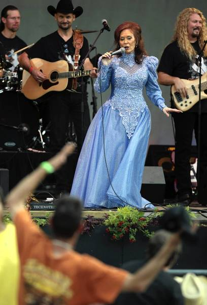 Loretta Lynn performs at the 2011 Taste of Chicago. The city for the first time is charging concertgoers for tickets.