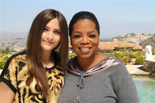Paris Jackson talks to Oprah for Sunday interview
