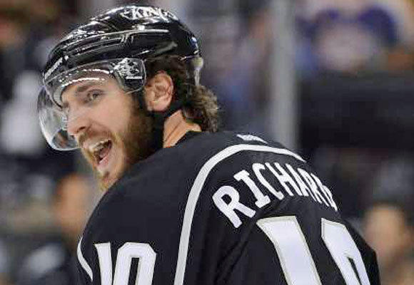 """The position we're in, we've obviously worked hard for,"" Kings forward Mike Richards said."