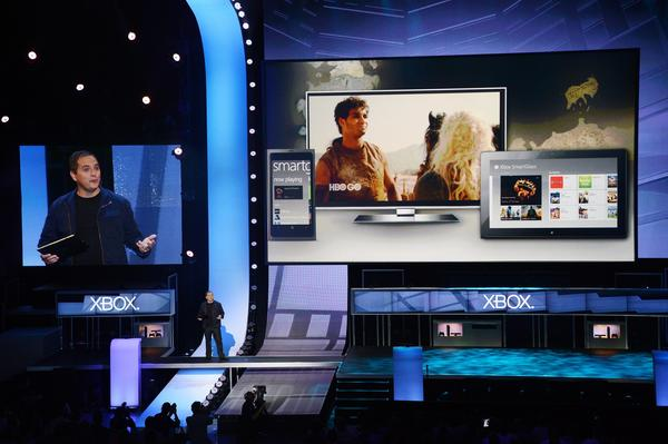 Microsoft announced the multi-device SmartGlass feature, as well as web browsing for the Xbox at Monday¿s E3 event. (Microsoft / June 4, 2012)