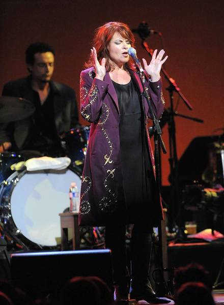 Rosanne Cash performs June 30 on the New Haven Green.