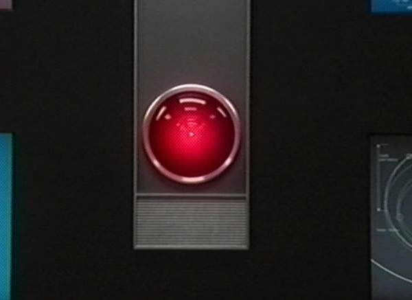 "HAL, the computer from the Stanley Kubrick movie classic ""2001: A Space Odyssey."