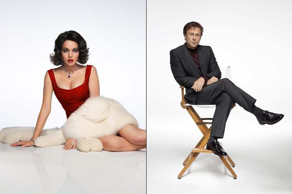Lindsay Lohan as Elizabeth Taylor and Grant Bowler as Richard Burton.