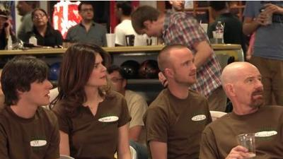 The cast of Breaking Bad goes bowling with Nerdist