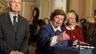 If Maryland's resident pit bull, Sen. Barbara Mikulski, has demonstrated anything in her several decades in Congress and as dean of Senate women, it's a willingness to stand up for the less powerful in society, and she was at it again this week advocating for the Paycheck Fairness Act and the rights of women to secure equal pay for equal work.