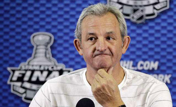 Darryl Sutter answers questions about Game 4 of the Stanley Cup Final.