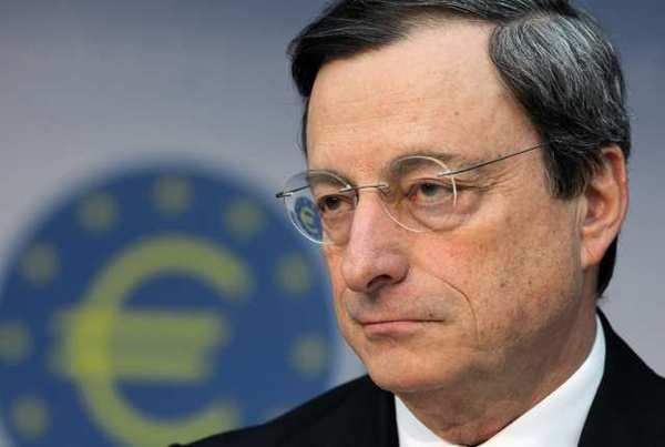 Mario Draghi, president of the European Central Bank, said that although the second quarter will bring weakening growth and ¿prevailing uncertainty,¿ the Eurozone's economy is expected to ¿recover gradually.&ique