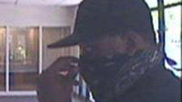 Suspect in the robbery of a bank at 11150 S. Western Ave.