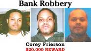 "A man who was featured on ""America's Most Wanted"" for robbing a bank in the south suburbs in 2009 surrendered this week after he called the FBI and claimed he was ""tired of a life on the run,"" the FBI said today."