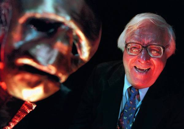 Ray Bradbury, shown here in 1999, has frequently been credited with elevating the often-maligned reputation of science fiction.