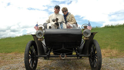 Horseless Carriage Club of America stops at Quecreek mine rescues site