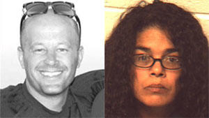 Williams Township homicide victim Mark Werkheiser and homicide suspect Elizabeth Collazo.