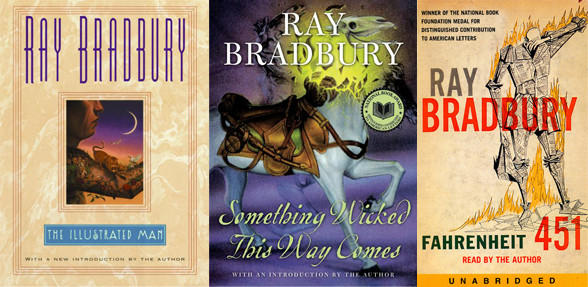 These books laid the foundation of Ray Bradbury's fame.
