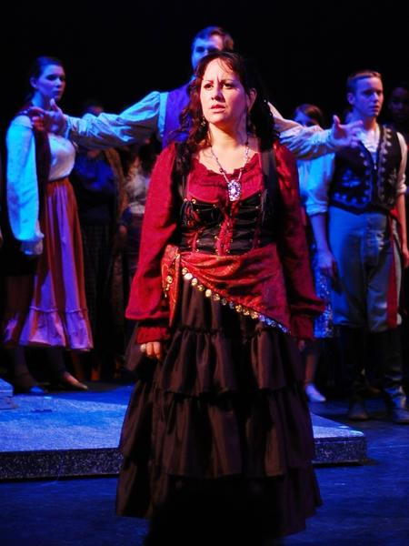 "Francesca Aguado sings the title role Thursday, June 7, and Saturday, June 9, in the Hub City Opera production of ""Carmen."""