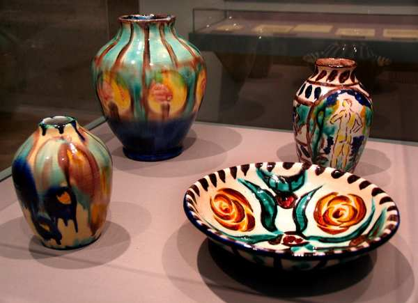 Ceramics by Jean Matisse, son of painter Henri.