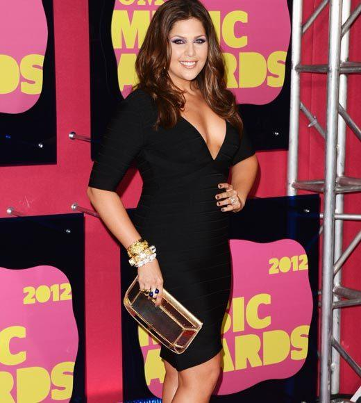 2012 CMT Music Awards red carpet arrival pics: Hillary Scott