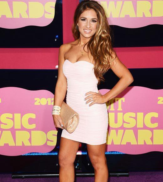2012 CMT Music Awards red carpet arrival pics: Jessie James