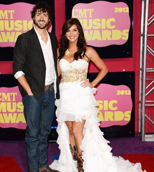 2012 CMT Music Awards red carpet arrival pics: Jeremiah James Korfe and Paige Duke