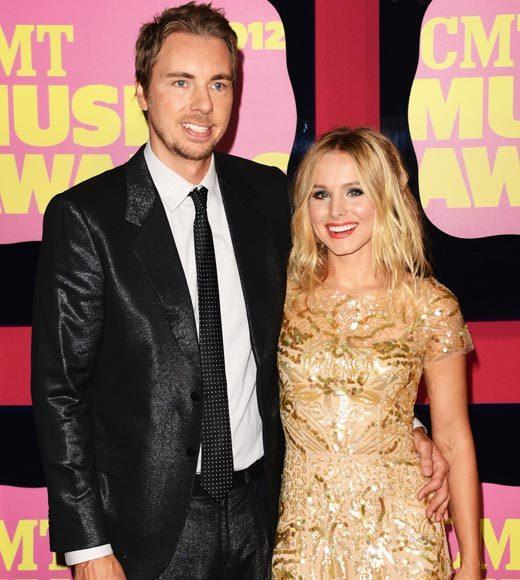 2012 CMT Music Awards red carpet arrival pics: Dax Shepard and Kristen Bell
