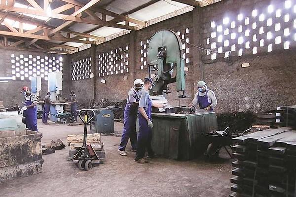 Wood is cut at Cameroon's largest ebony mill, which has been purchased by Bob Taylor of Taylor Guitars and two partners. For Taylor Guitars, which has used ebony from Cameroon for many years, the chance to ensure a steady supply of legal ebony was too good to pass up, Taylor said.