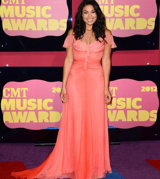 2012 CMT Music Awards red carpet arrival pics: Jordin Sparks